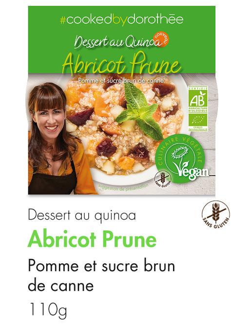 Dessert Quinoa Abricot Prune