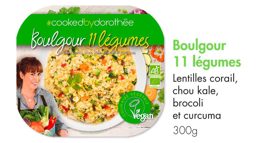 Boulgour 11 légumes