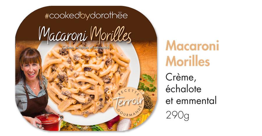 Macaroni aux morilles