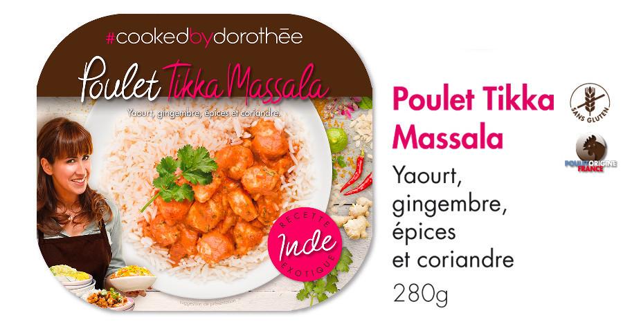 Poulet Tikka Massala