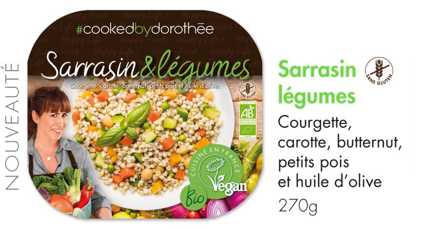 Sarrasin & légumes