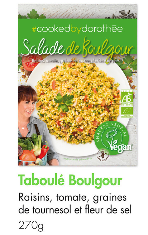 Salade taboulé de boulgour